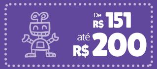 produtos e brinquedos ate 200 reais