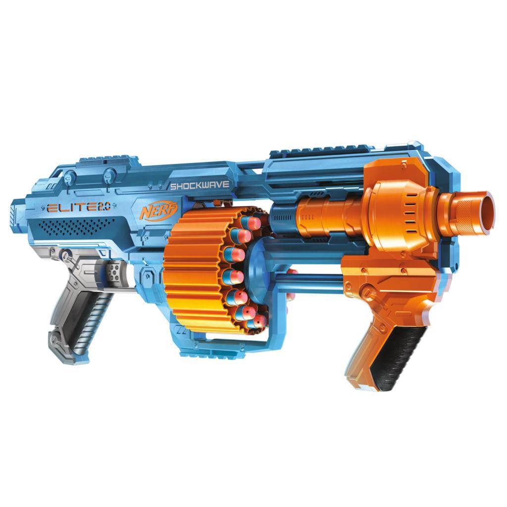 Lançador De Dardos - Nerf - Elite 2.0 - Schockwave - Hasbro
