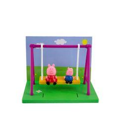 Playset---Parquinho-da-Peppa-Pig---George-e-Peppa---Sunny-0