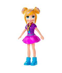 Boneca-e-Acessorios---Polly-Pocket---Blusa-Listrada-e-Saia-Rosa---Mattel_Frente