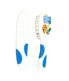 Pente-e-Escova-Para-Cabelo---Soft-Touch---Azul---Multikids-0