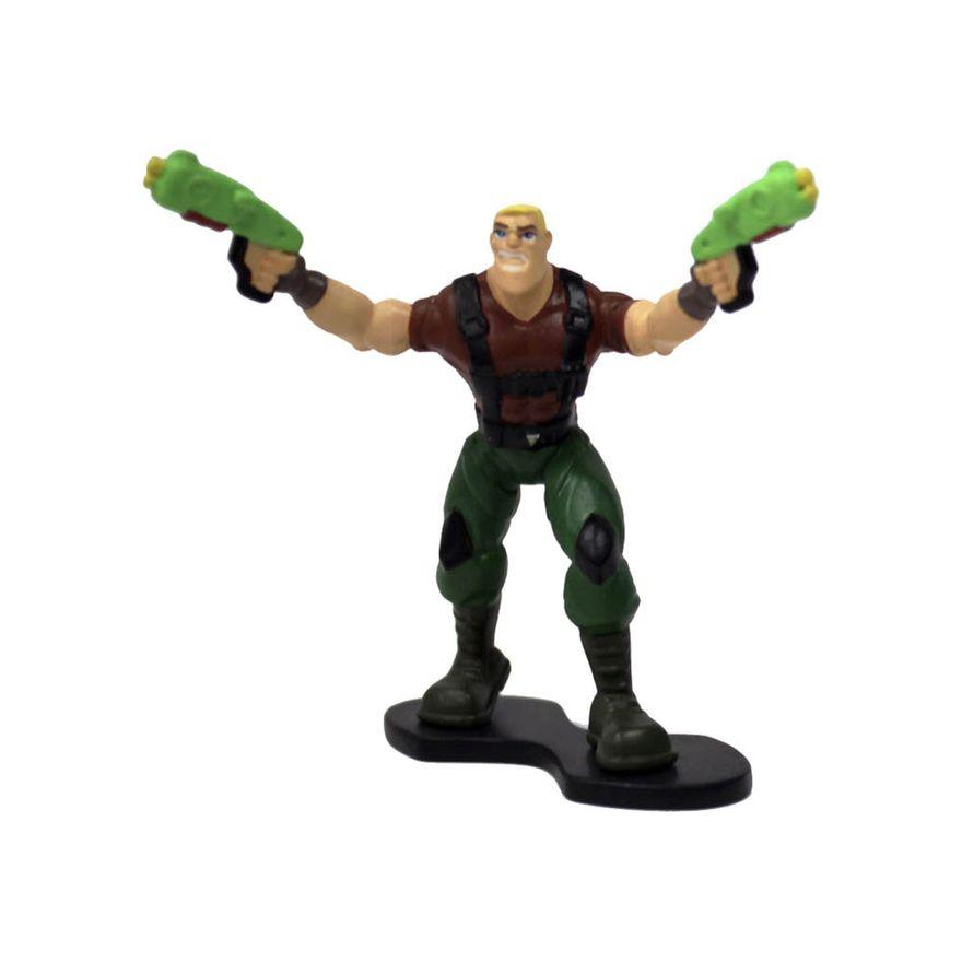 Mini-Figura---5Cm---Power-Players---Sarge---Sunny_Detalhe