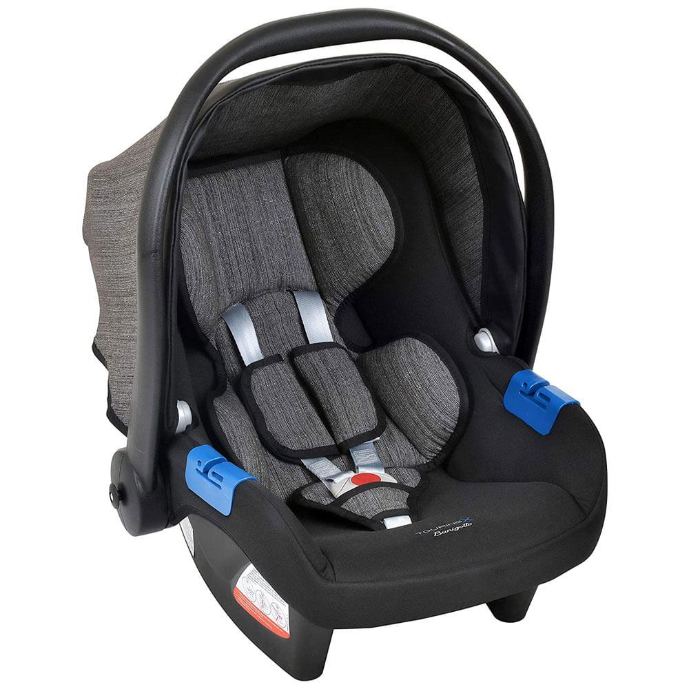 Bebê Conforto - Burigotto - Touring X - De 0 a 13 Kg - Mescla Preto