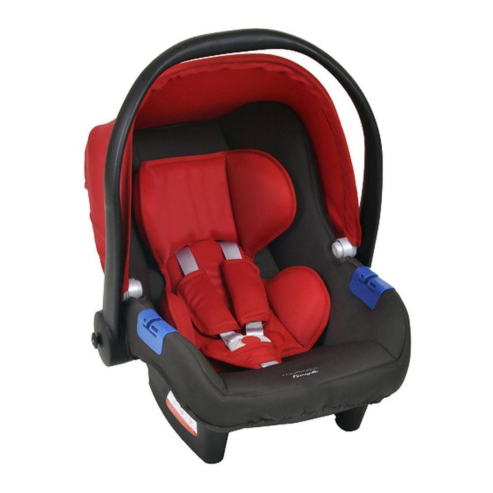Bebê Conforto - Burigotto - Touring X - De 0 a 13 Kg - Cinza e Vermelho