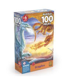 Quebra-Cabeca---Dragoes---100-Pecas---Grow-0