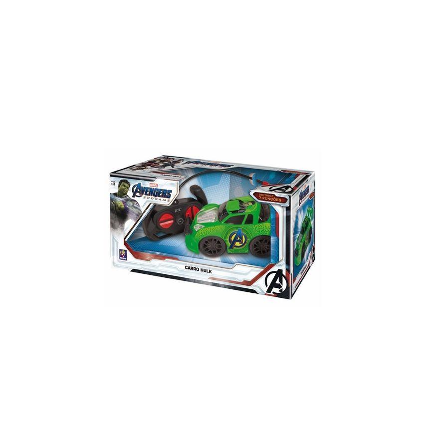 Carro-de-Controle-Remoto---Hulk---Marvel---Mimo-2