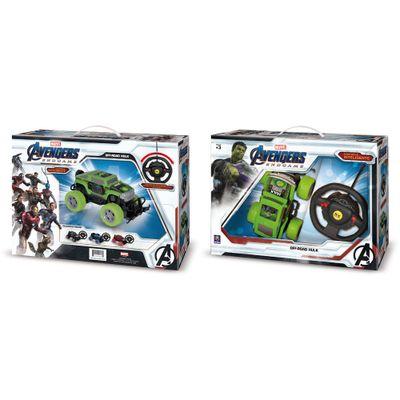 Carro-de-Controle-Remoto---Controle-Inteligente---Hulk---Marvel---Mimo-0