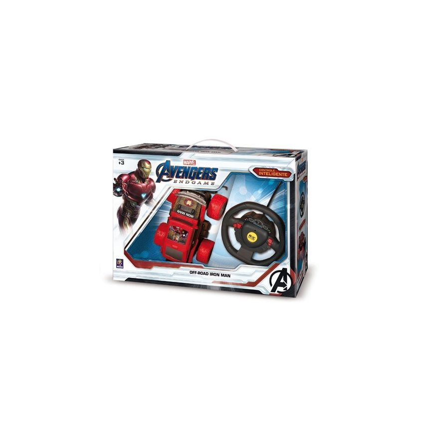 Carro-de-Controle-Remoto---Controle-Inteligente---Homem-de-Ferro---Marvel---Mimo-2