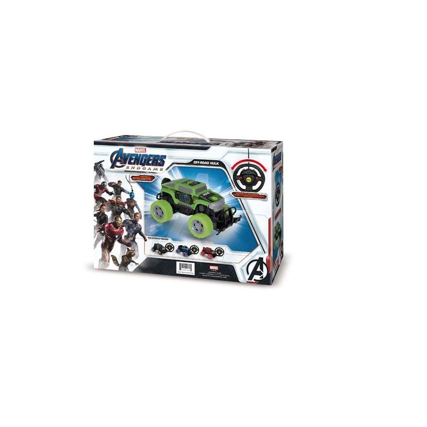 Carro-de-Controle-Remoto---Controle-Inteligente---Hulk---Marvel---Mimo-2