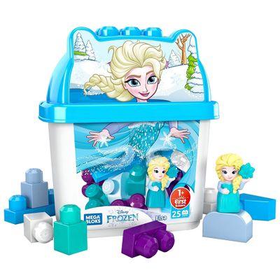 Mega-Bloks---Disney---Balde-de-Blocos---Elsa---Mattel-0