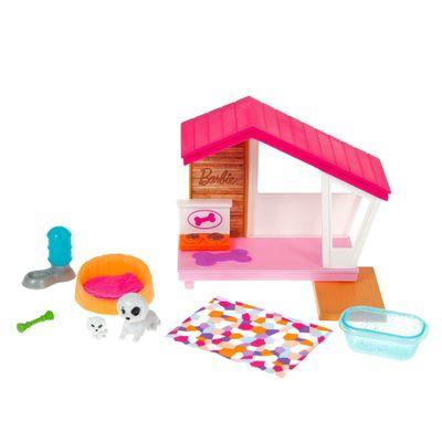 Barbie-Estate---Mini-Conjuntos---Pets-Casinha-de-Cachorro-0