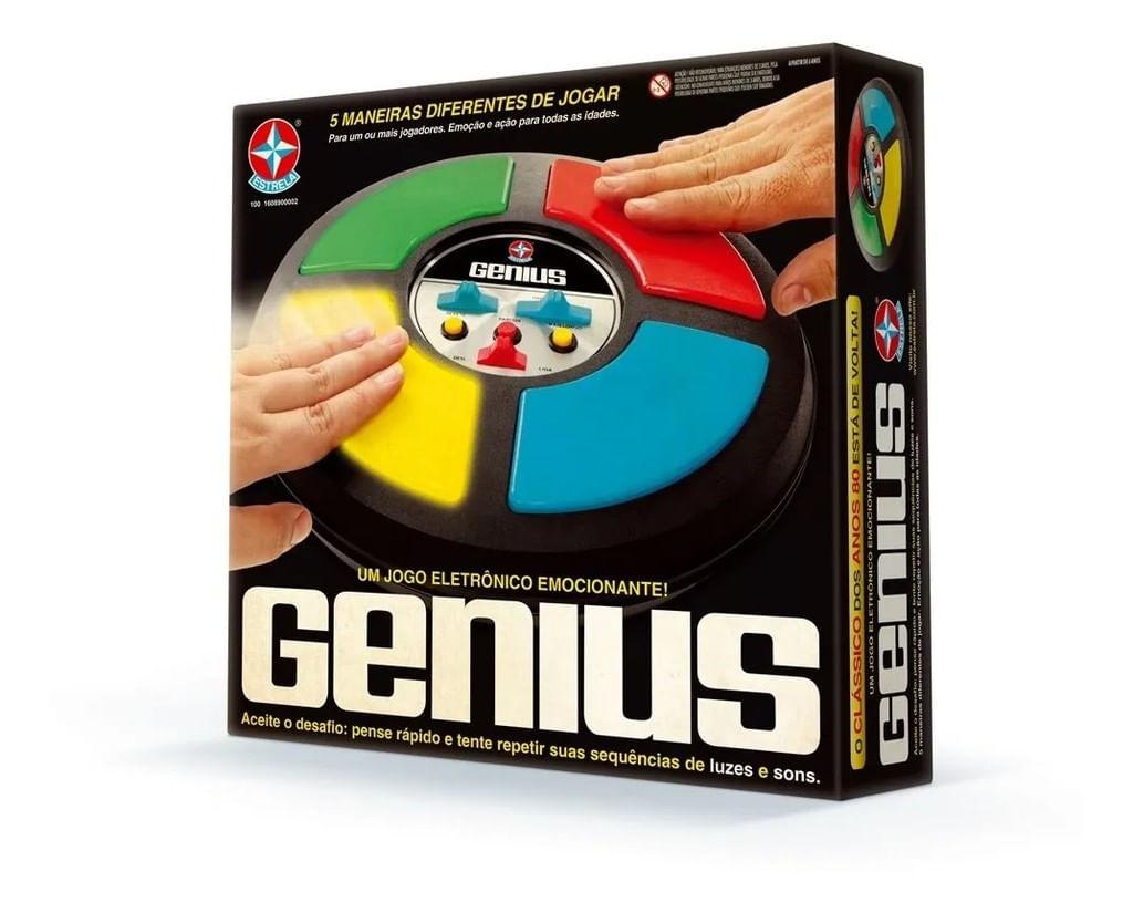 Jogo Genius Eletrônico - Brinquedo Estrela - Original