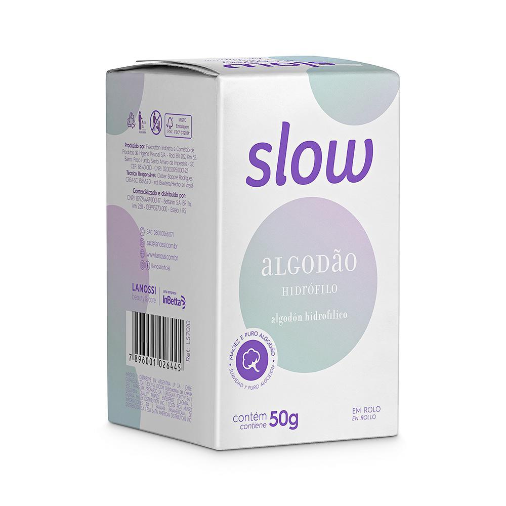 Algodão em Rolo Slow 50g