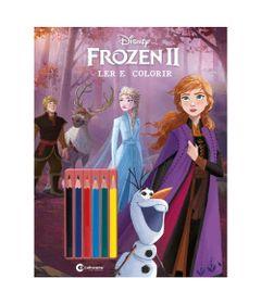 Livro-Infantil---Disney---Frozen-2---Ler-e-Colorir---Culturama_Frente