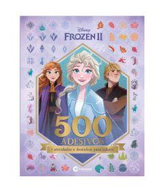 Livro-Infantil---Disney---Frozen-2---Com-500-Adesivos---Culturama_Frente