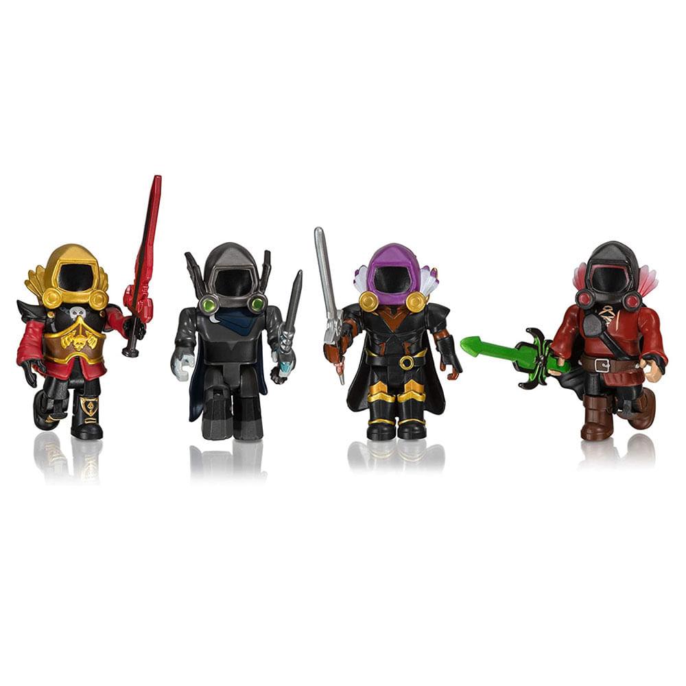 Conjunto de Mini Figuras - Roblox - Dominus Dudes - 4 Figuras - Sunny