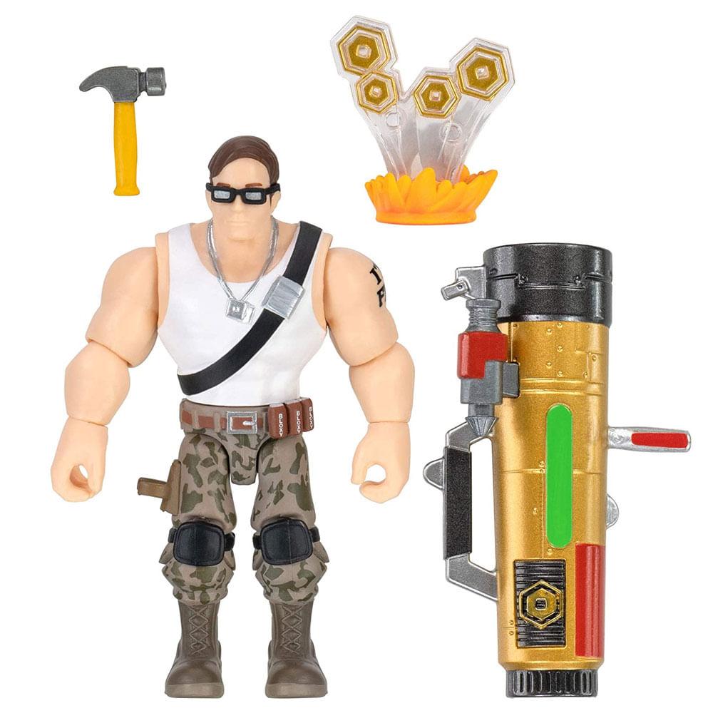Mini Figura Articulada - 8 Cm - Roblox - Davy Bazooka - Sunny