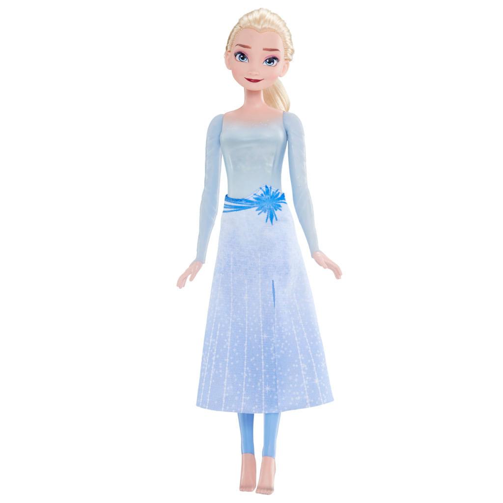 Oferta Boneca Articulada - Disney Frozen 2 - Elsa Brilho Aquático - Hasbro por R$ 194.99