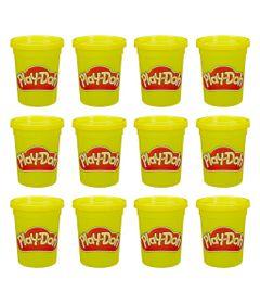 Massa-Modelar-Play-Doh-Kit-com-12-potes---Amarelo---Hasbro-0