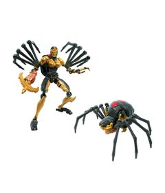Figura-Transformers-Generations-War-For-Cybertron---Kingdom-Deluxe---Black-Arachnia---Hasbro-0