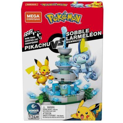 Blocos-de-Montar---Mega-Construx---Playset-de-Batalha---Pokemon---Pkachu-Vs-Memmeon---Mattel