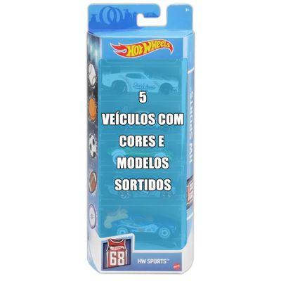Conjunto-de-Veiculo-Hot-Wheels---Pacote-com-5-Sortidos---Serie-HW-Sports---Mattel