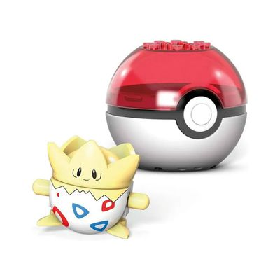 blocos-de-montar-mega-construx-pokemon-pokebola-com-togepi-mattel-100332154_Frente