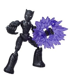 Marvel-Avengers-Figura-Flexivel-de-15-cm-Bend-and-Flex-Vingadores---Pantera-Negra---E7868---Hasbro-0