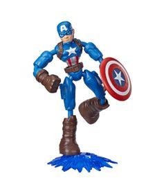 Marvel-Figura-Flexivel-de-15-cm-Bend-and-Flex-Vingadores---Capitao-America---E7869---Hasbro-0