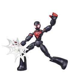 Marvel-Figura-Flexivel-de-15-cm-Homem-Aranha-Bend-and-Flex---Miles-Morales---E7687---Hasbro-0