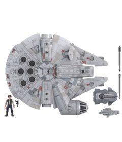 Star-Wars-Mission-Fleet-Han-Solo-Nave-Milennium-Falcon---Figura-de-6-cm-e-Veiculo---E9343---Hasbro-0