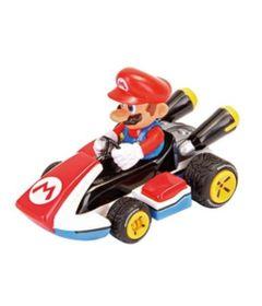 Mini-Veiculo---1-43---Mario-Kart---Mario---Carrera-0