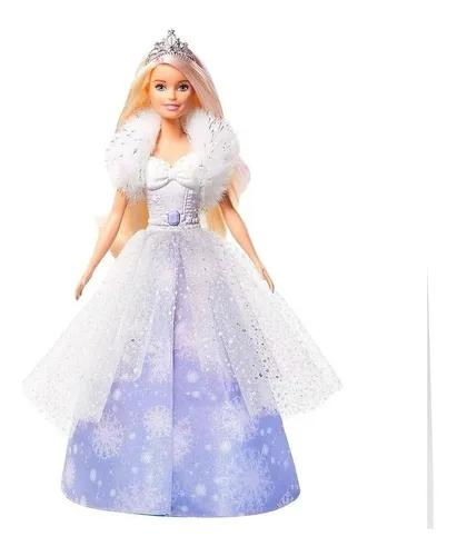 Barbie Dreamtopia Princesa Vestido Mágico Encantado 2 Em 1