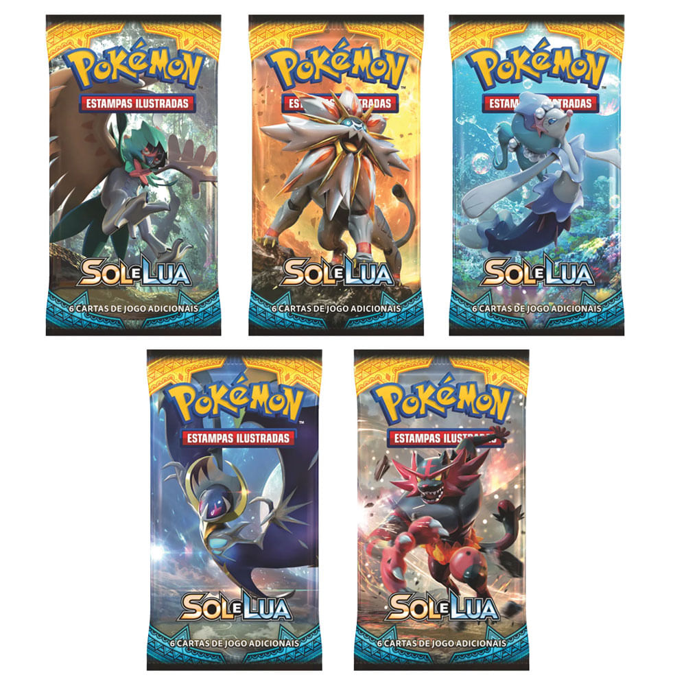 Kit Deck Pokémon - 5 Bliters - Espada e Escudo - Copag