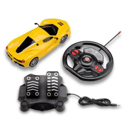 Oferta Veículo de Controle Remoto - Racing Control Speedx - Amarelo - Multikids por R$ 159.99