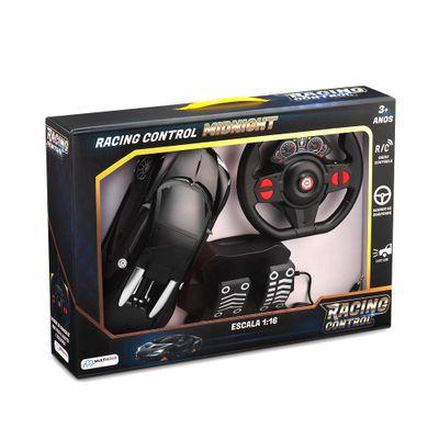 Oferta Veículo de Controle Remoto - Racing Control Midnight - Preto - Multikids por R$ 159.99