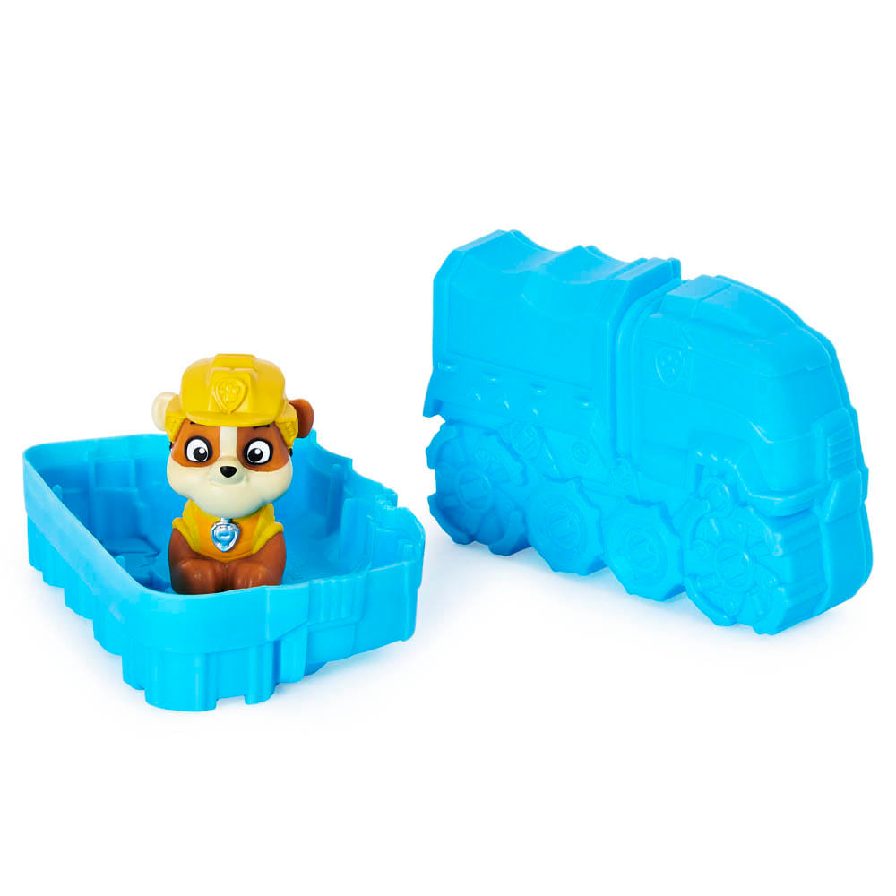 Veículo e Mini Figura Surpresa - Patrulha Canina - Dino Rescue - Série 7 - Sunny