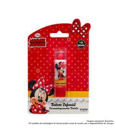 Maquiagem-Infantil---Batom-35g---Disney-Minnie---Vermelho---View-Cosmeticos_Frente
