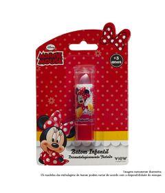 Maquiagem-Infantil---Batom-35g---Disney-Minnie---Rosa---View-Cosmeticos_Frente