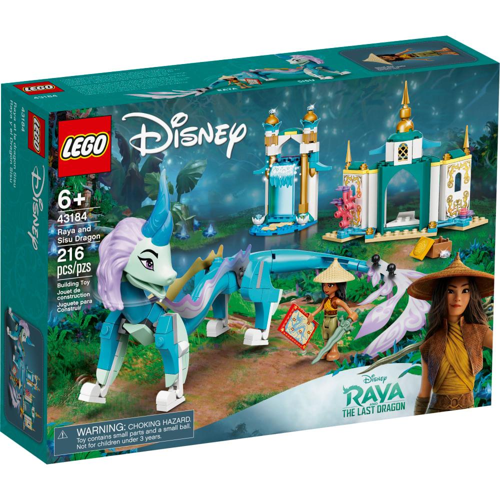 LEGO Disney - Raya e o Último Dragão - Raya and Sisu Dragon - 43184