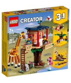 LEGO-Creator----Safari-Wildlife-Tree-House---31116-0