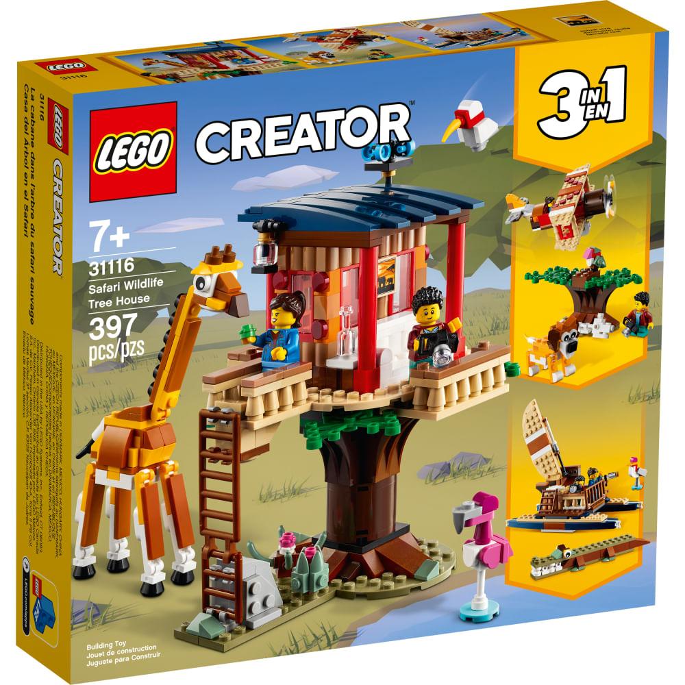 LEGO Creator - Safari Wildlife Tree House - 31116