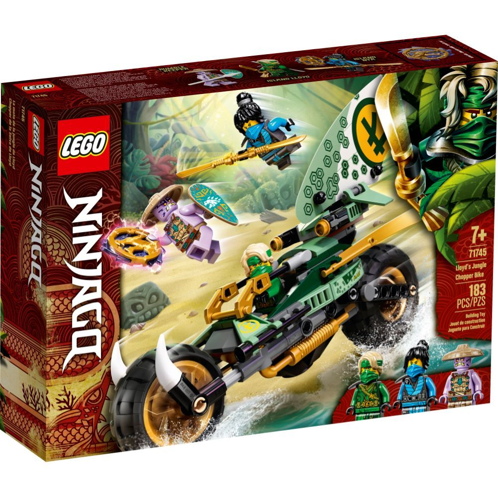 LEGO Ninjago - Lloyds Jungle Chopper Bike - 71745