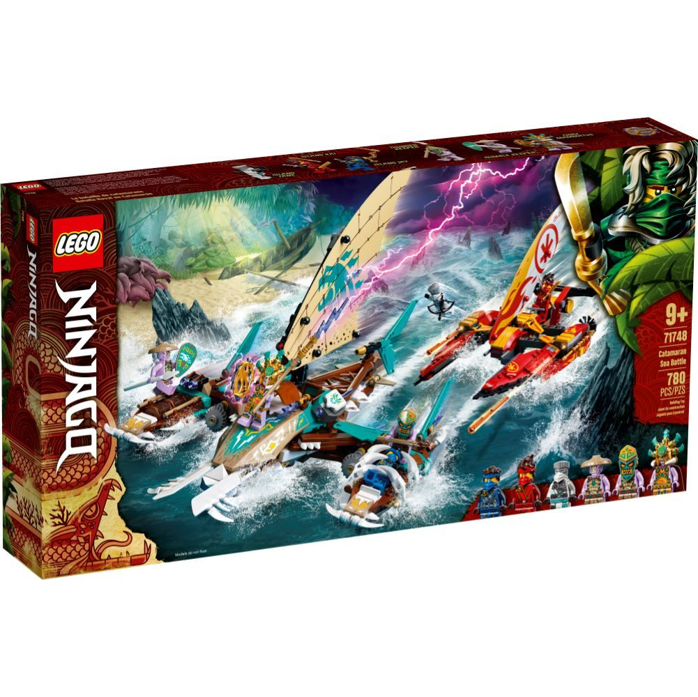 LEGO Ninjago - Catamaran Sea Battle - 71748
