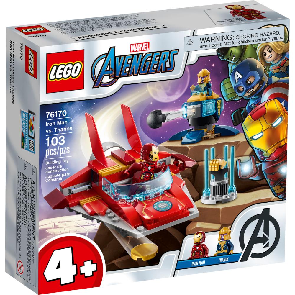 LEGO Marvel - Iron Man vs Thanos - 76170