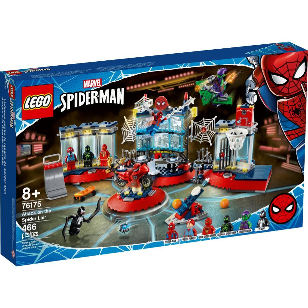 LEGO Marvel - Attack on the Spider Lair - 76175