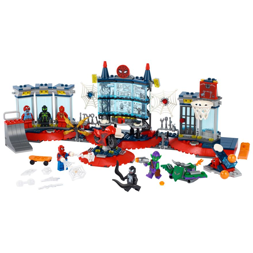 LEGO-Marvel---Attack-on-the-Spider-Lair---76175-1