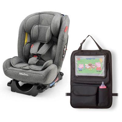Kit-de-Cadeira-Para-Auto---0-a-36-Kg---All-Stages-Cinza-e-Organizador-Para-Carro---Fisher-Price