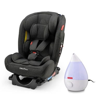 Kit-de-Cadeira-Para-Auto---0-a-36-Kg---All-Stages-Preto-e-Umidificador-de-Ar---Fisher-Price