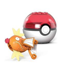 Blocos-de-Montar---Mega-Construx---Pokemon---Pokebola-com-Magicarpe---Mattel_Detalhe